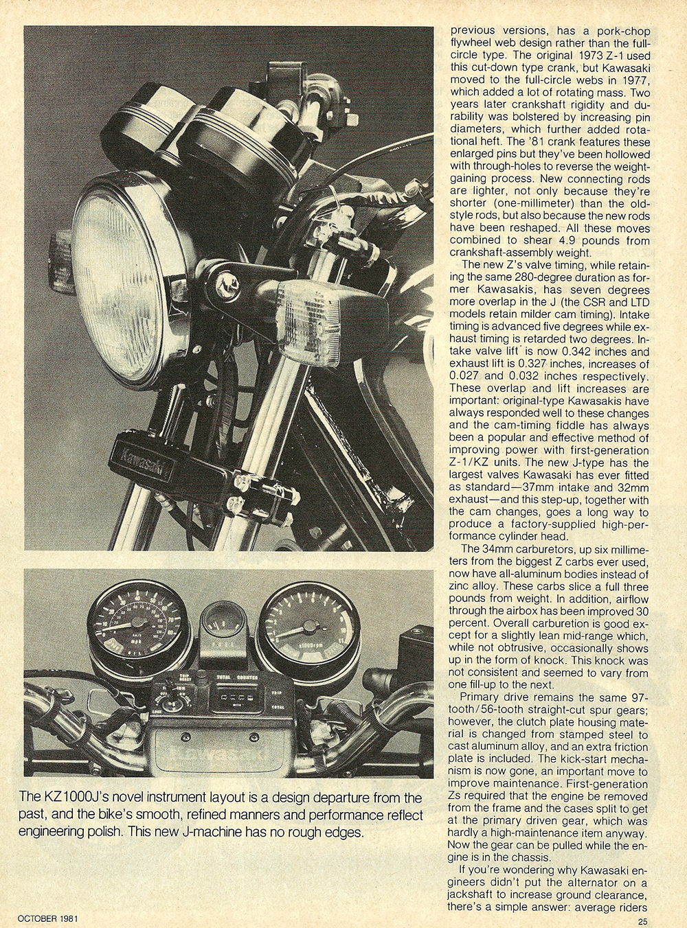1981 Kawasaki KZ1000 J road test 04.jpg