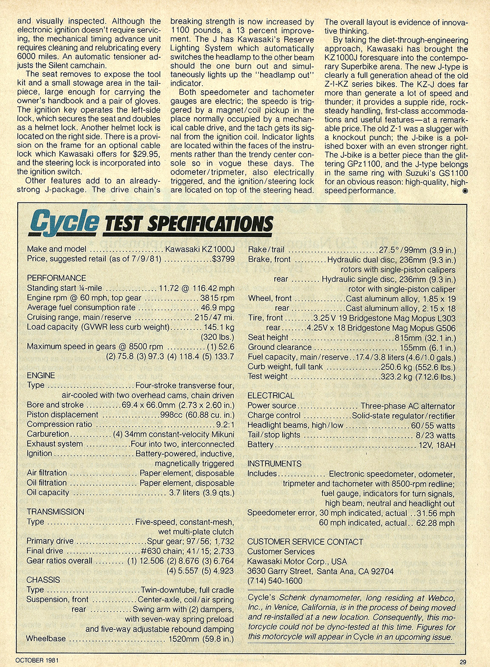 1981 Kawasaki KZ1000 J road test 10.jpg