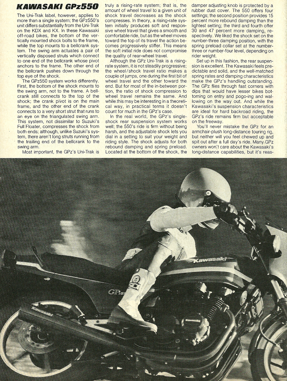 1982 Kawasaki GPz550 road test 03.jpg