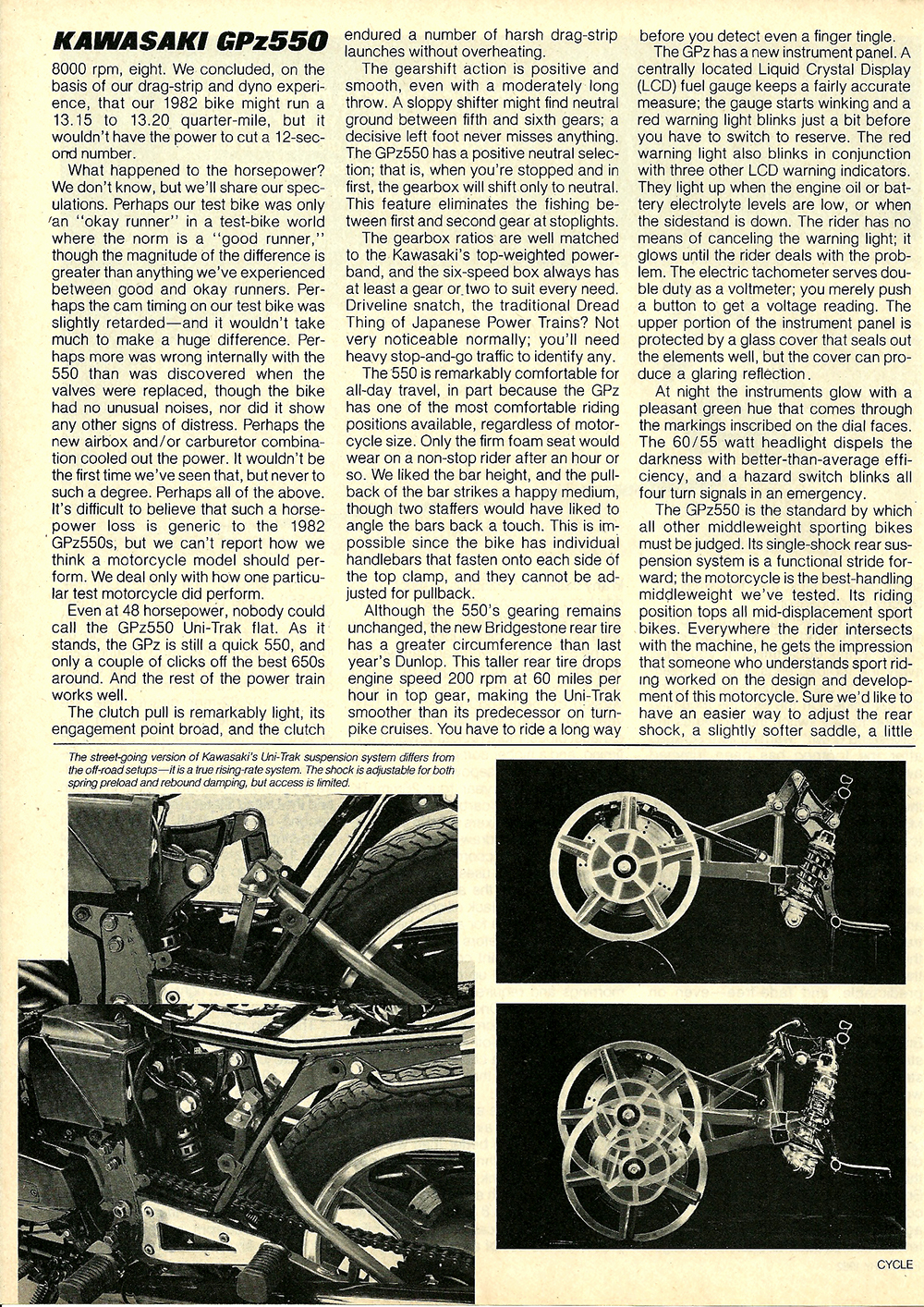 1982 Kawasaki GPz550 road test 07.jpg