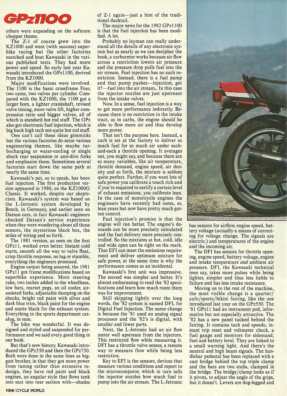 1982 Kawasaki GPz1100 road test 02.jpg