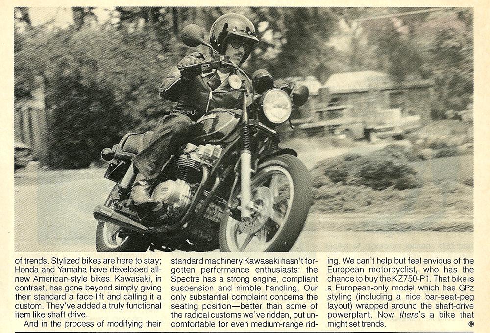 1982 Kawasaki KZ750N Spectre road test 8.jpg