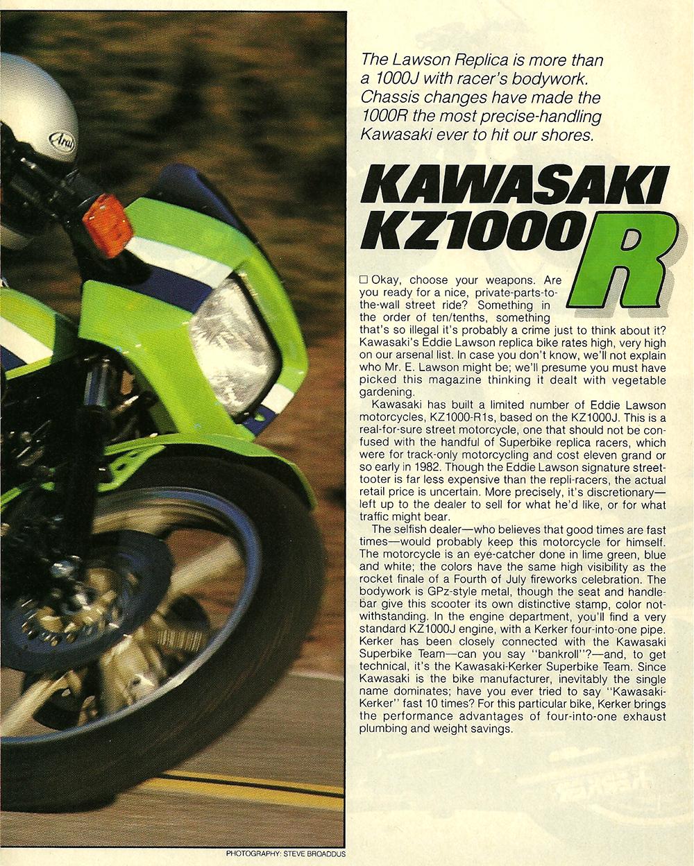 1982 Kawasaki KZ1000R road test 2.jpg
