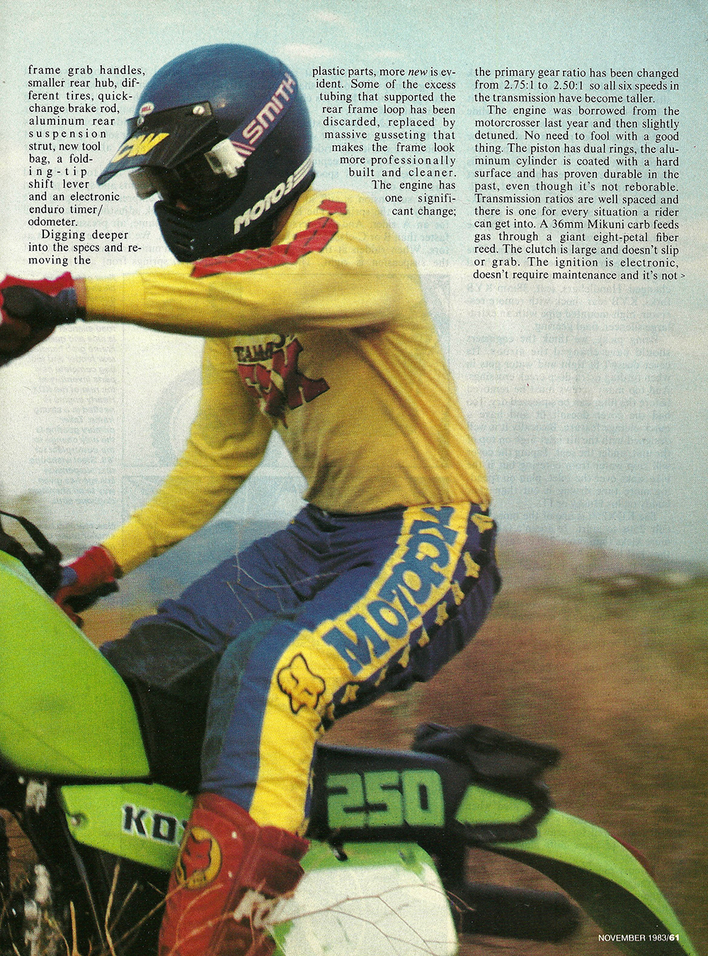 1983 Kawasaki kdx250 road test 02.jpg