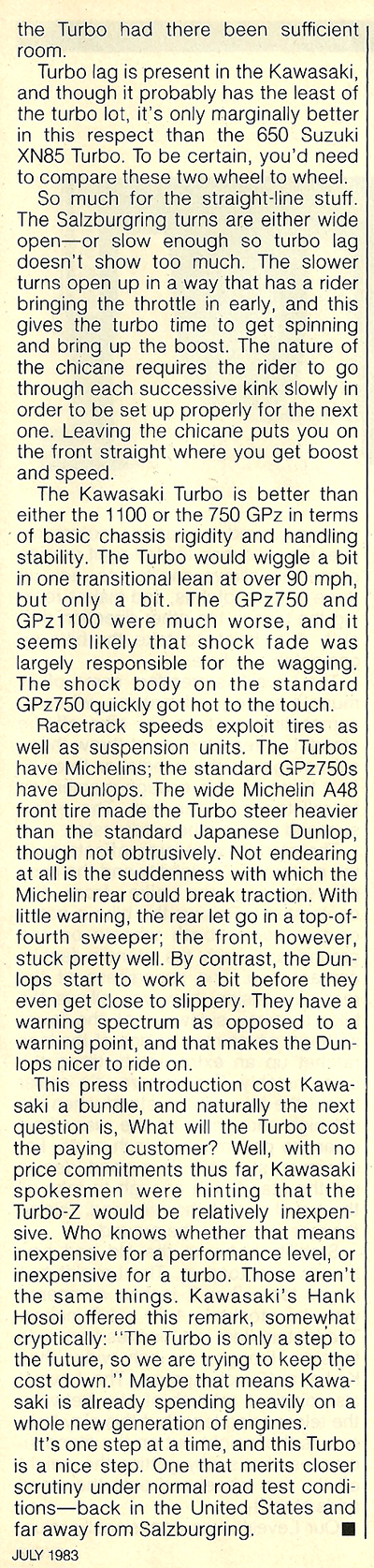 1983 Kawasaki ZX750 Turbo road test 4.jpg