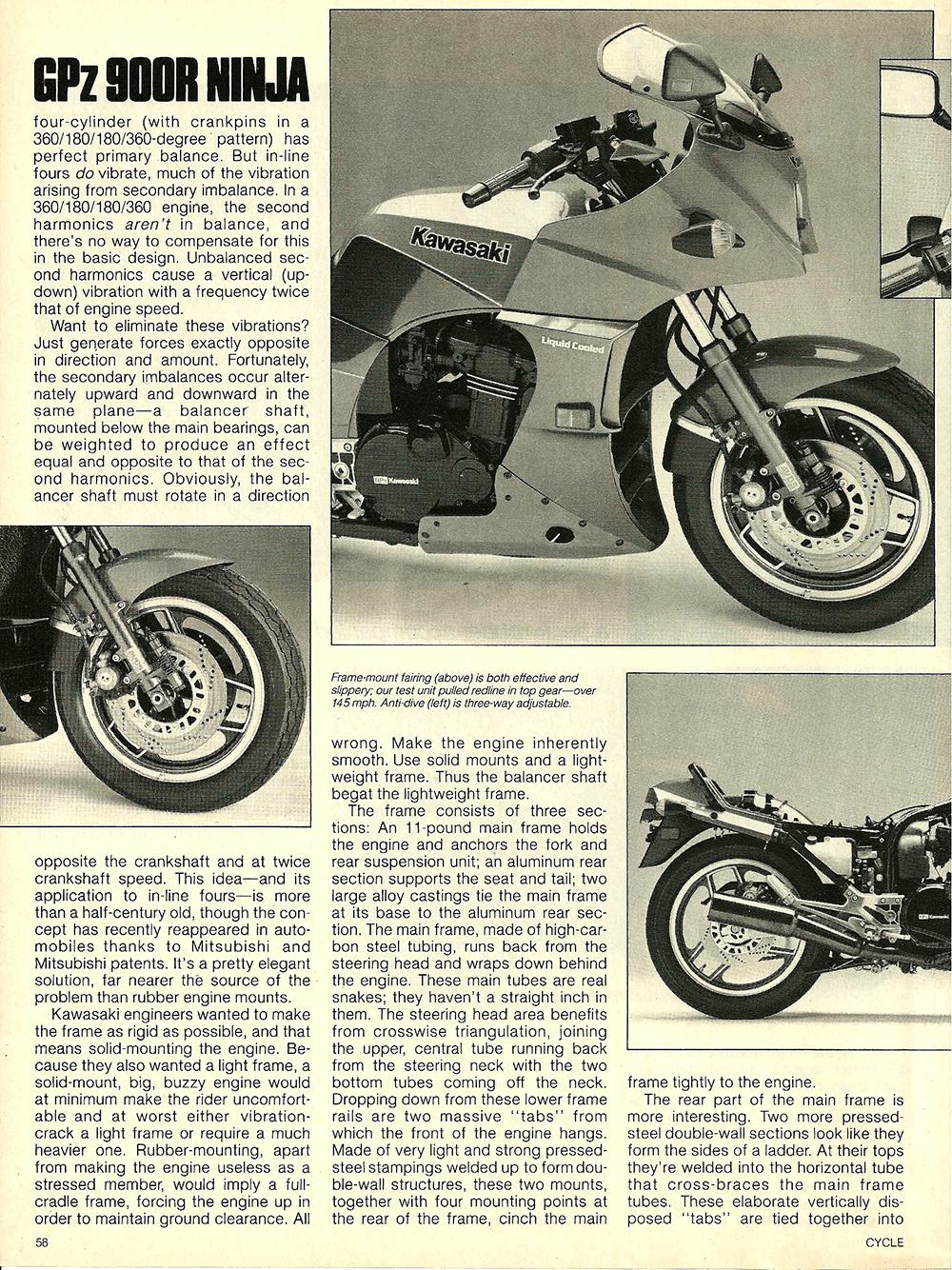 1984 Kawasaki GPz 900R Ninja road test 04.jpg