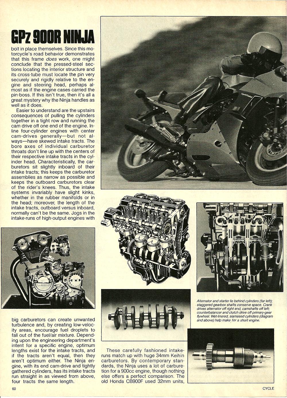 1984 Kawasaki GPz 900R Ninja road test 06.jpg