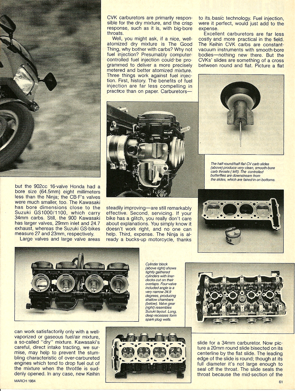 1984 Kawasaki GPz 900R Ninja road test 07.jpg