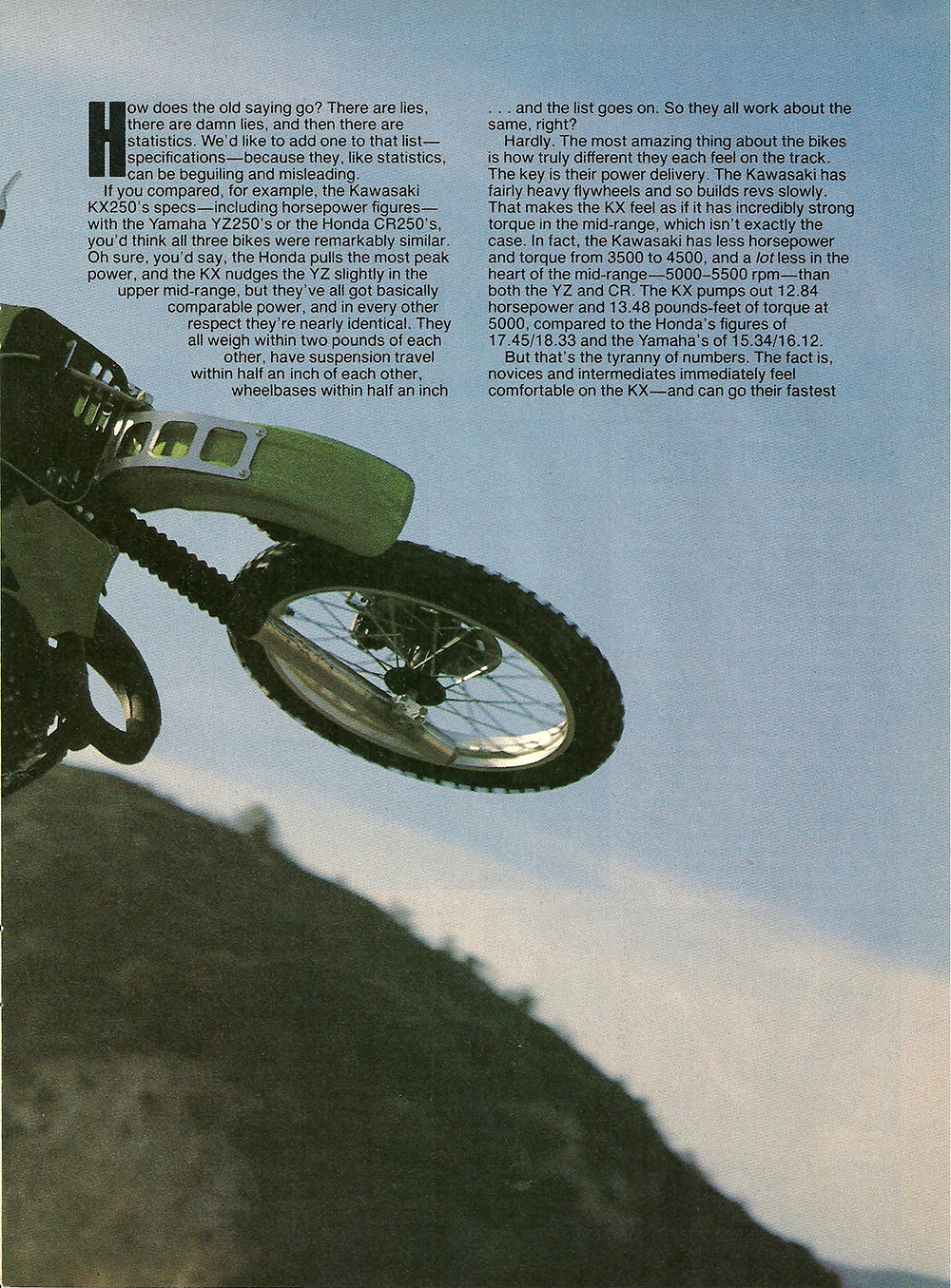 1984 Kawasaki KX250 road test 2.jpg