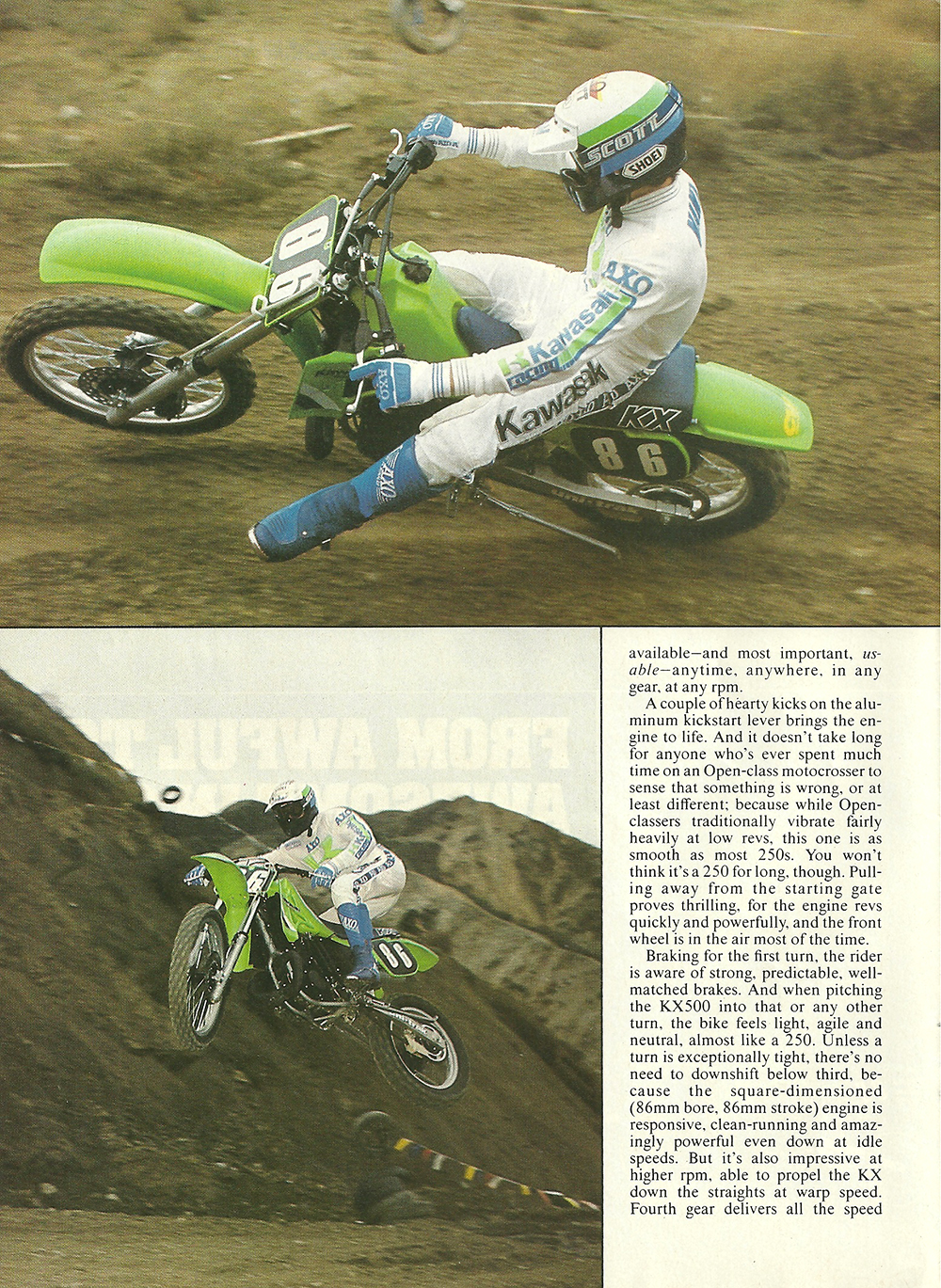 1985 Kawasaki KX500 road test 03.jpg