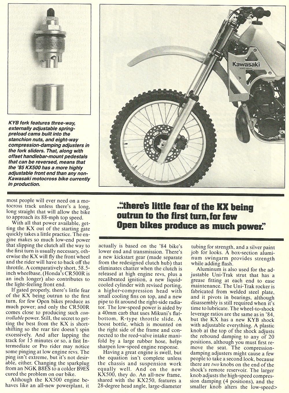 1985 Kawasaki KX500 road test 04.jpg