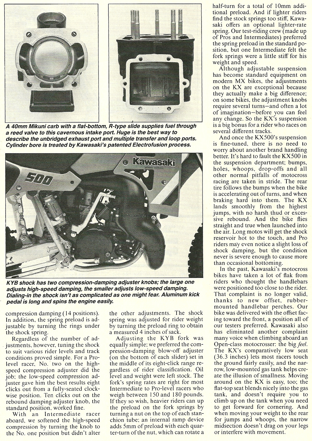 1985 Kawasaki KX500 road test 05.jpg