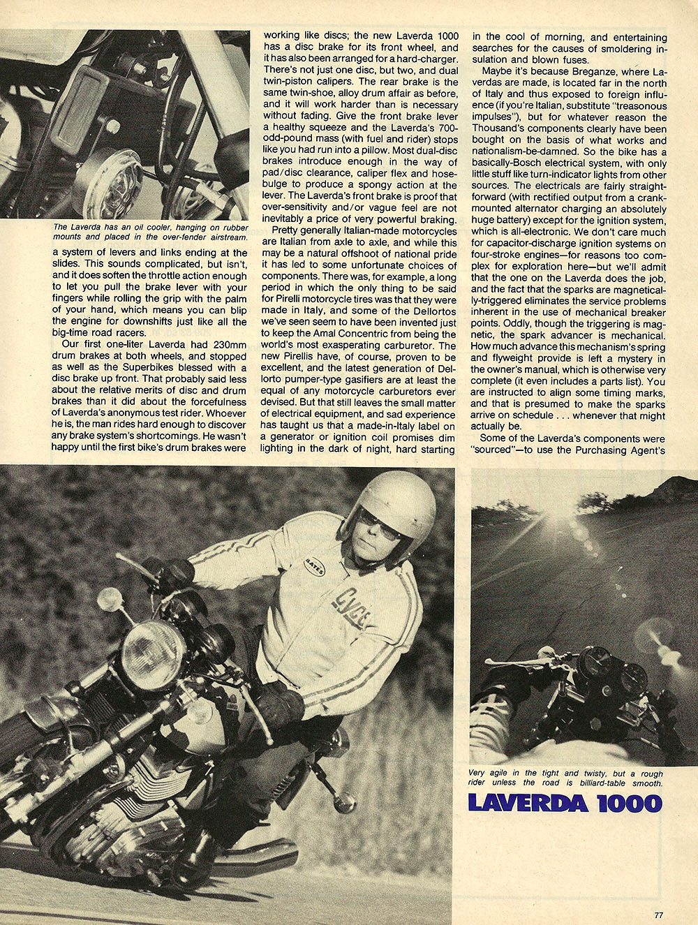 1976 Laverda 1000 road test 3.JPG