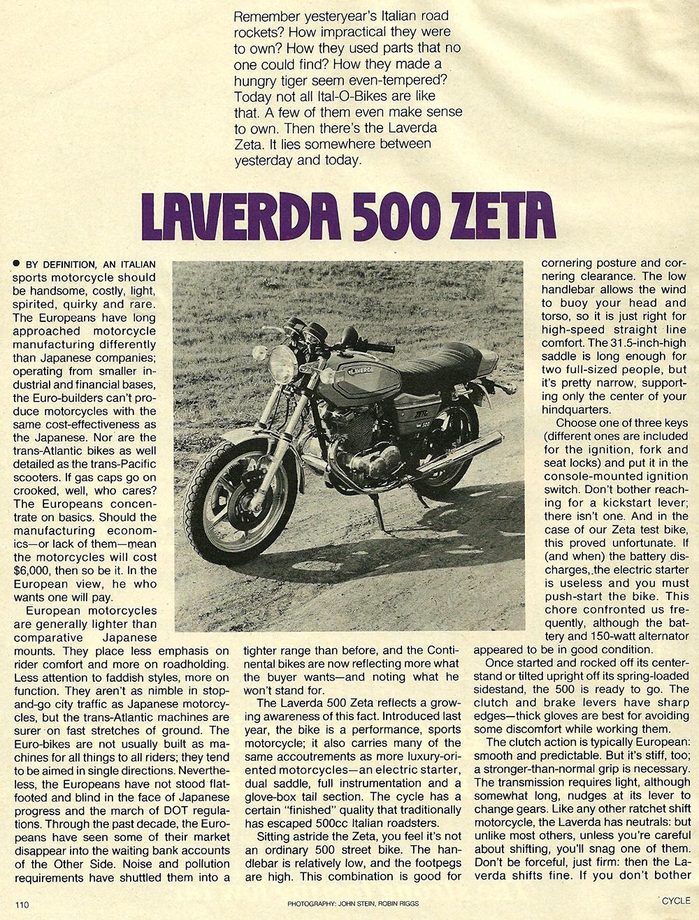 1979 Laverda 500 Zeta road test 1.jpg