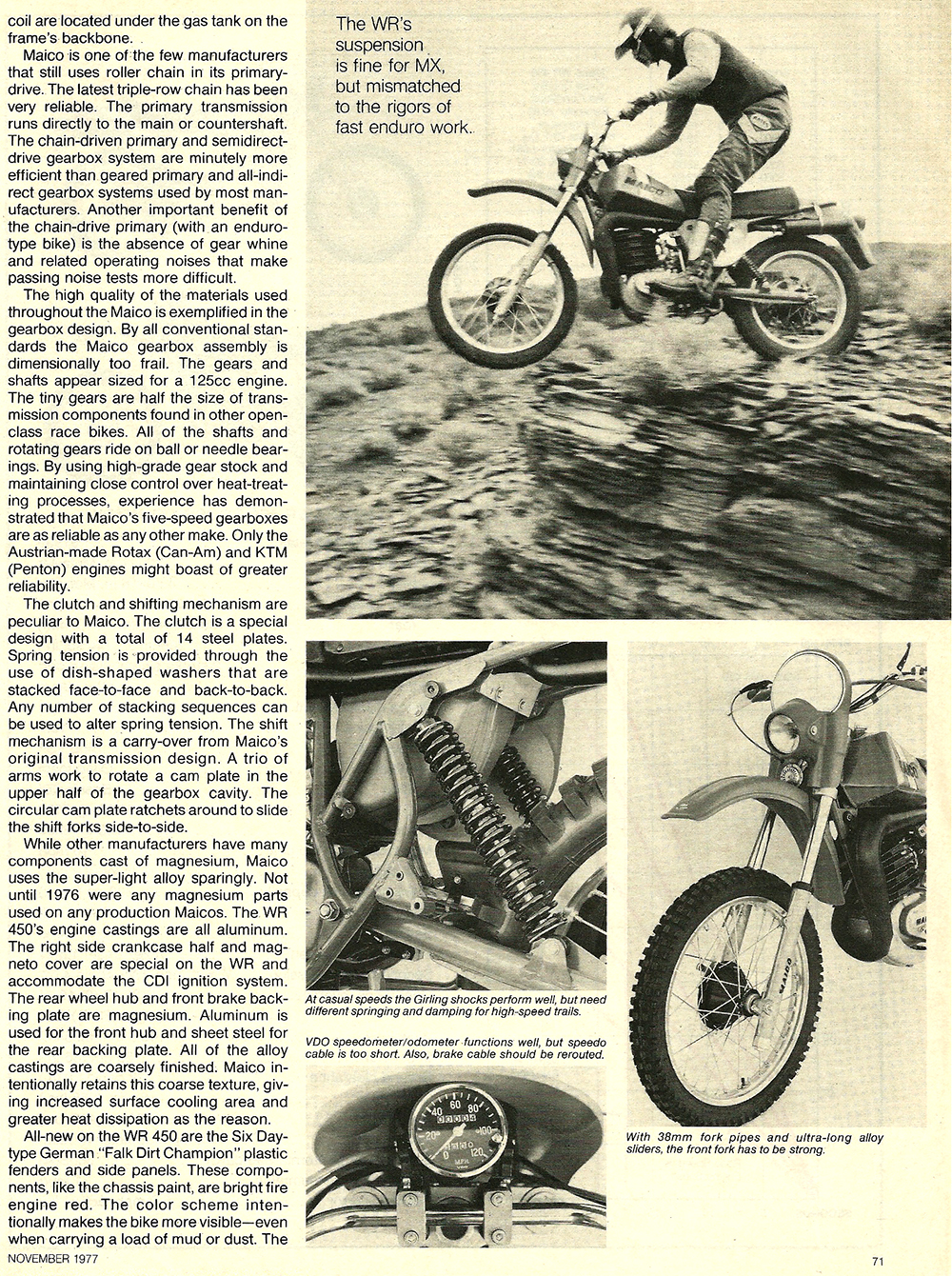 1977 Maico WR450 Cross Country XC road test 4.jpg