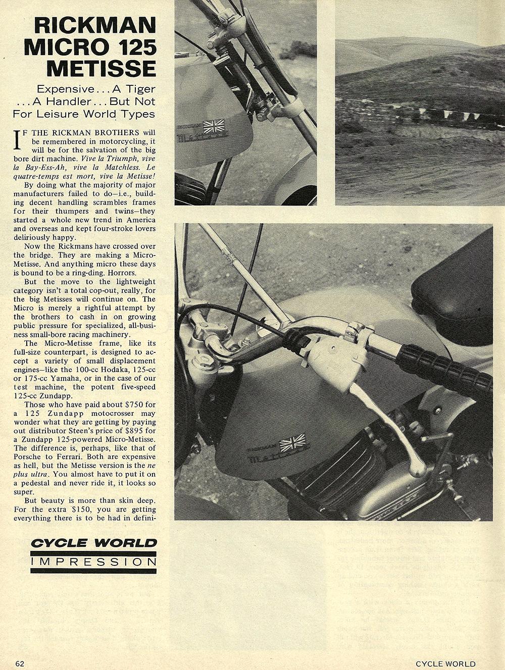1970 Rickman Micro 125 Metisse road test 01.jpg