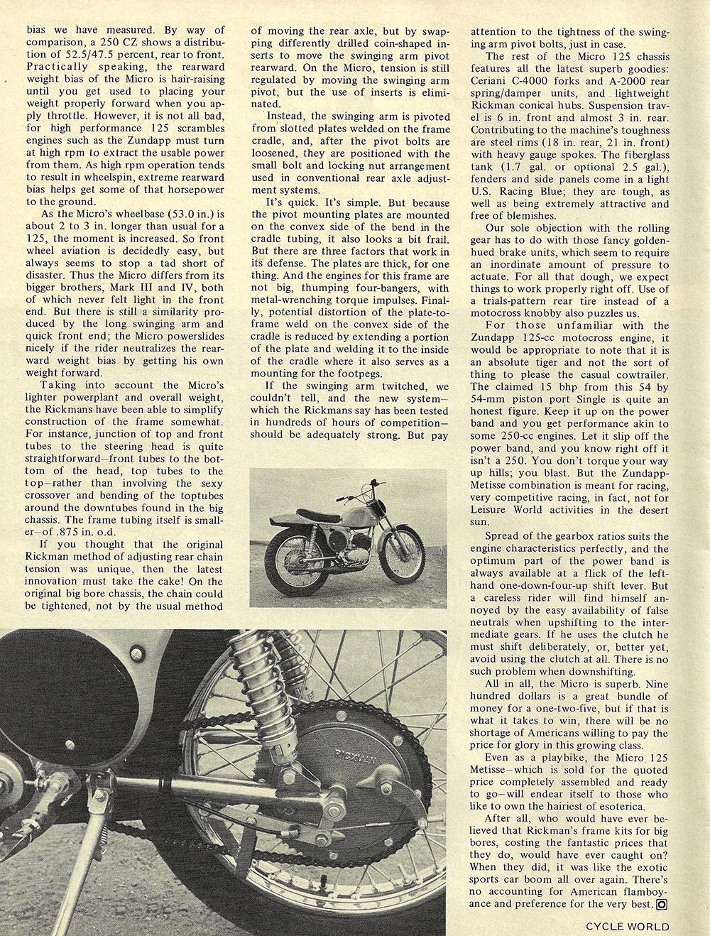 1970 Rickman Micro 125 Metisse road test 03.jpg