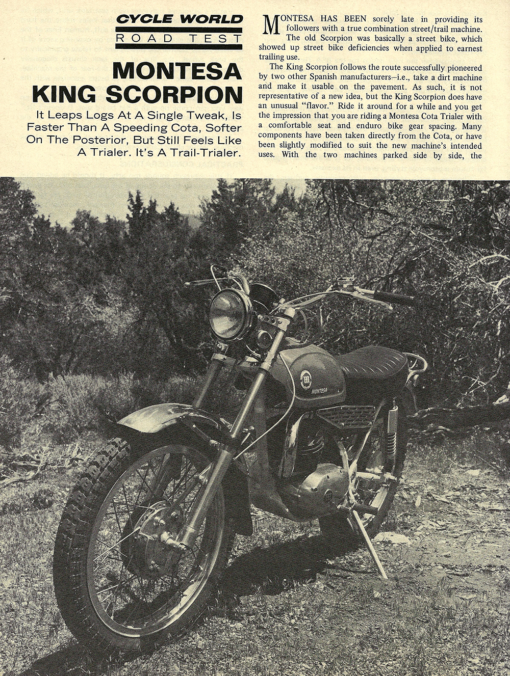 1970 Montesa King Scorpion road test 01.jpg