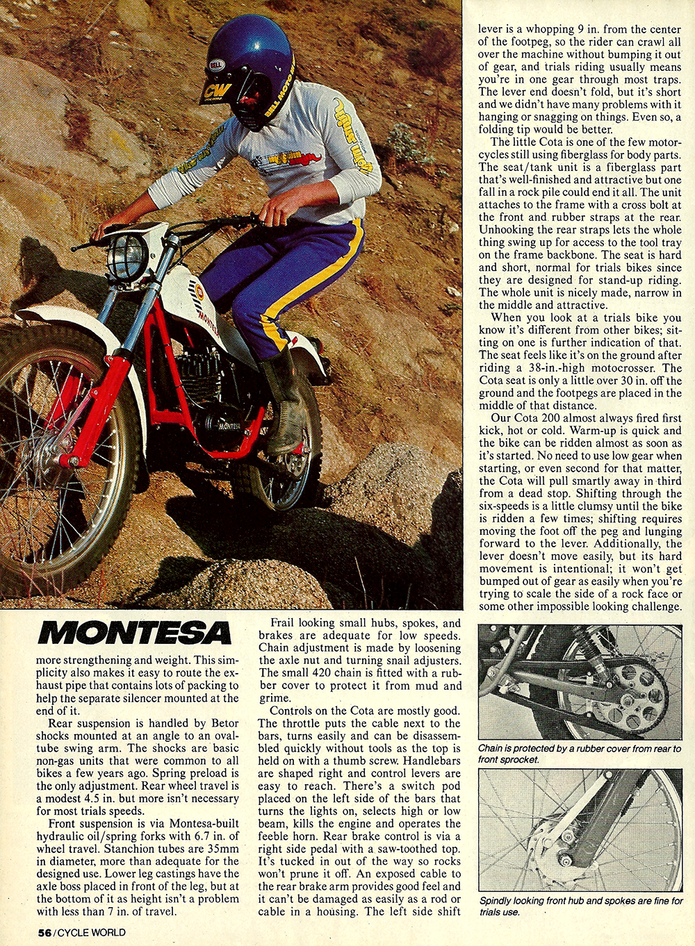 1982 Montesa cota 200 road test 03.jpg