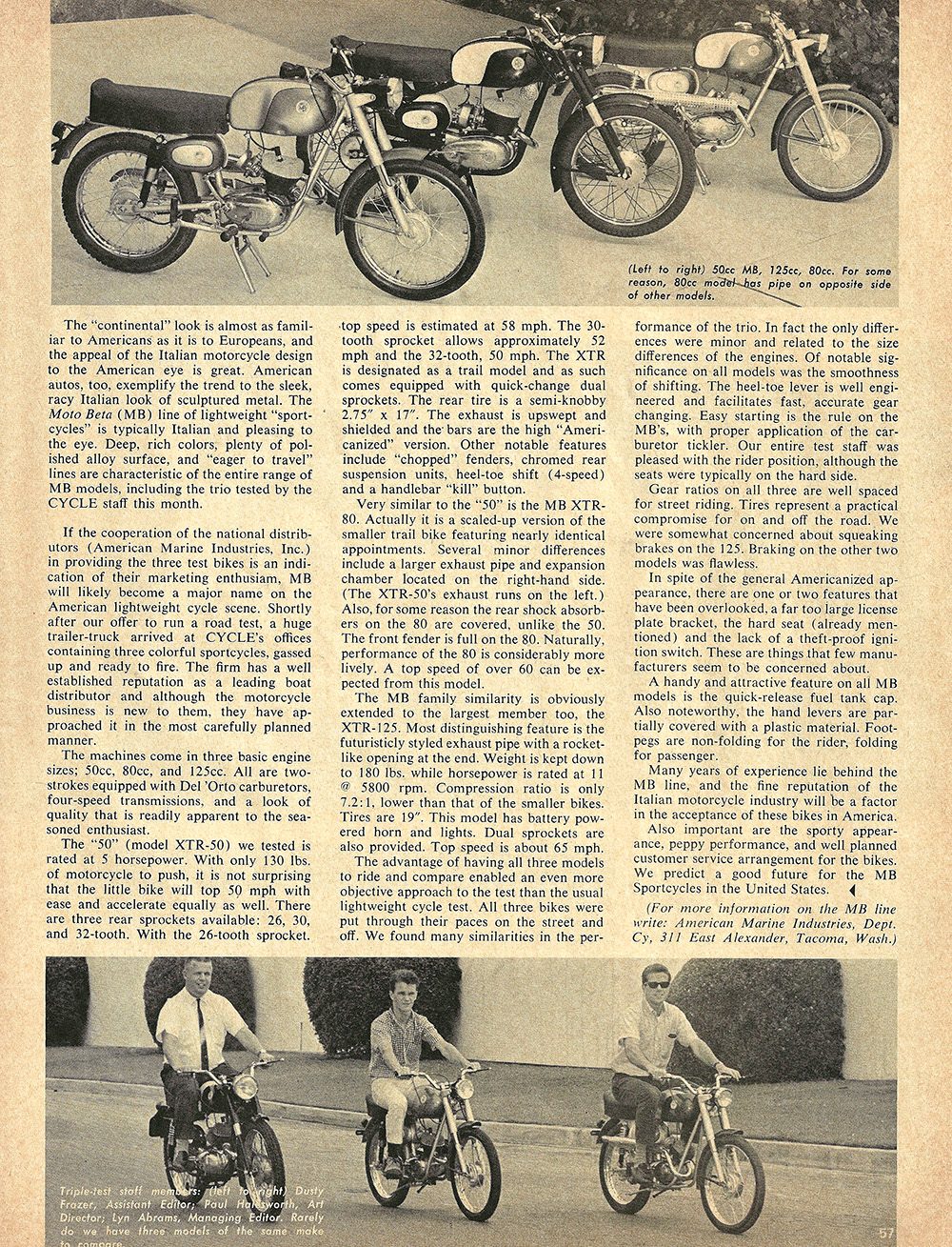 1966 Moto Beta 50cc 80cc 125cc road test 2.JPG