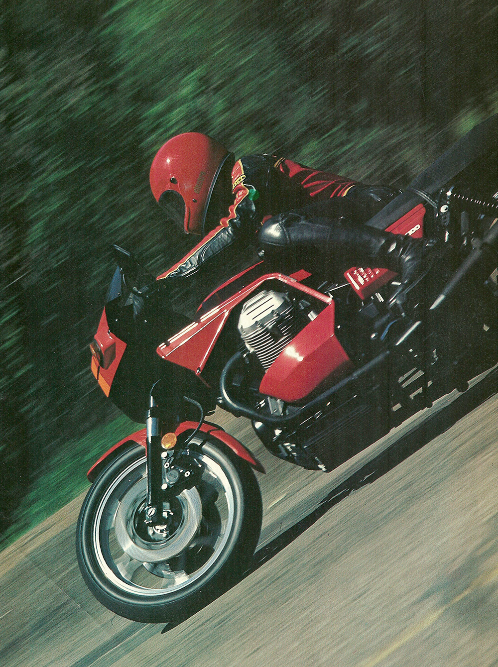 1980 Moto Guzzi Lemans CX100 road test 02.jpg