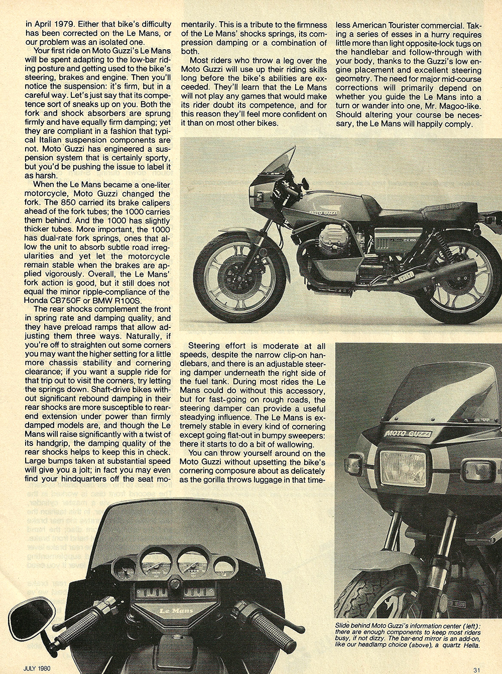 1980 Moto Guzzi Lemans CX100 road test 06.jpg