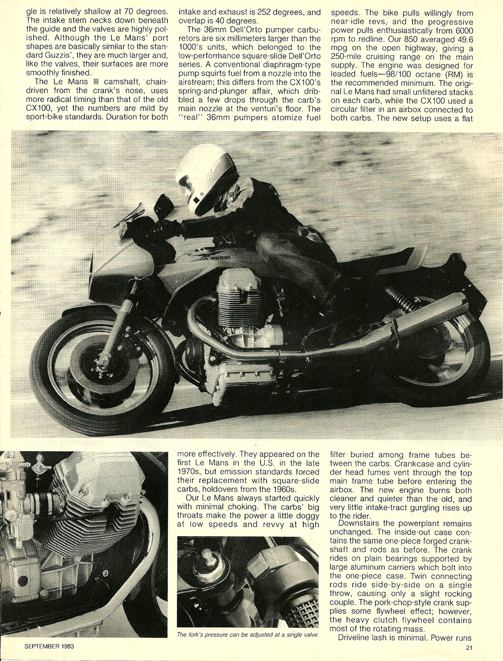 1983 Moto Guzzi 850 Lemans 3 road test 4.jpg