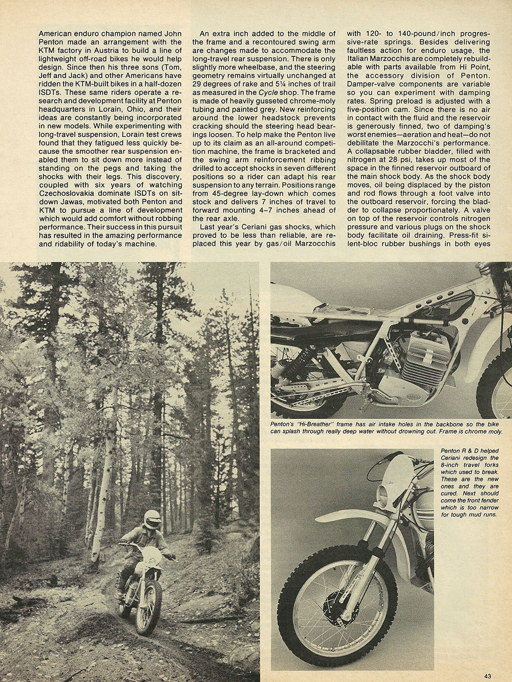 1976 Penton 175 Enduro off road test 4.JPG