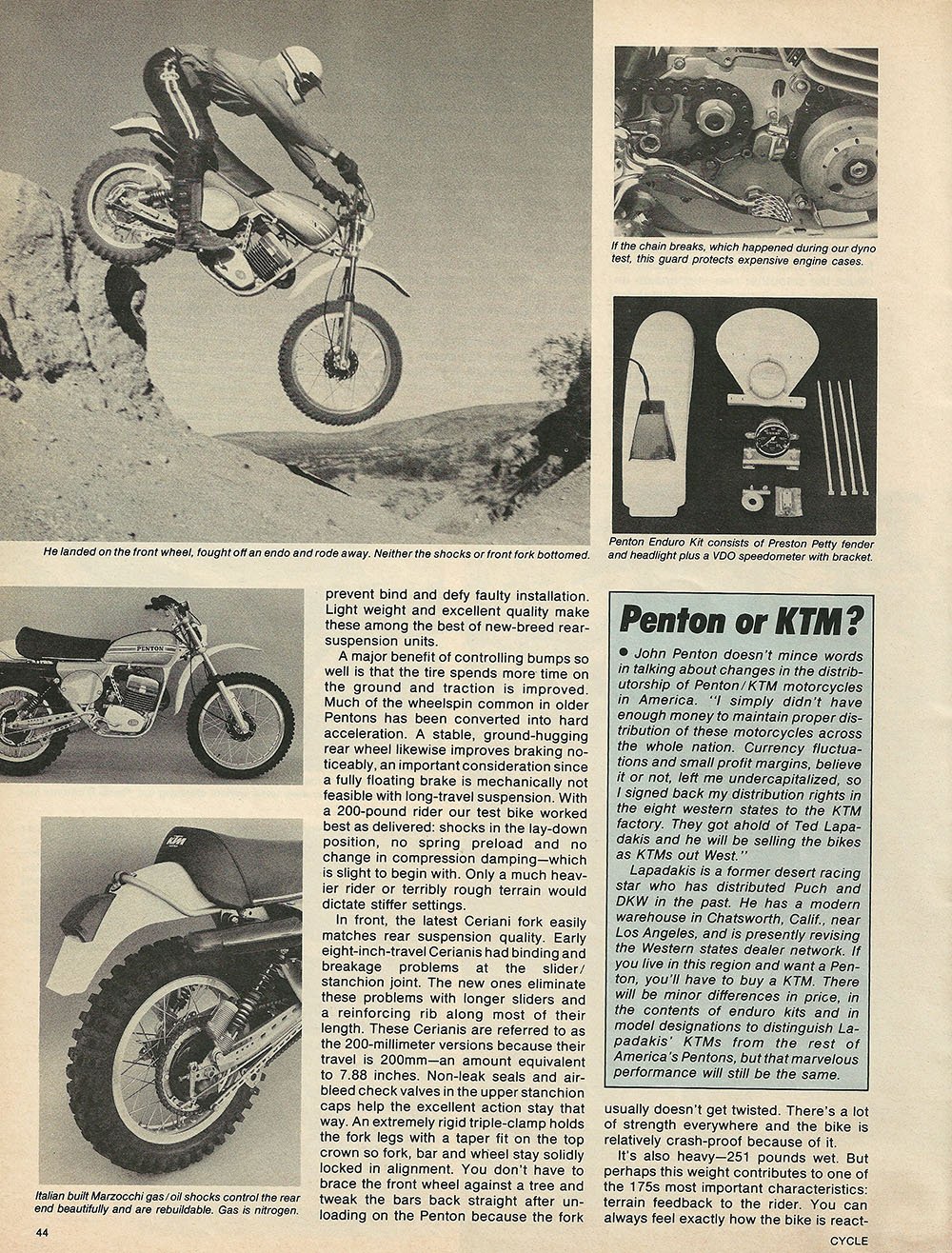 1976 Penton 175 Enduro off road test 5.JPG