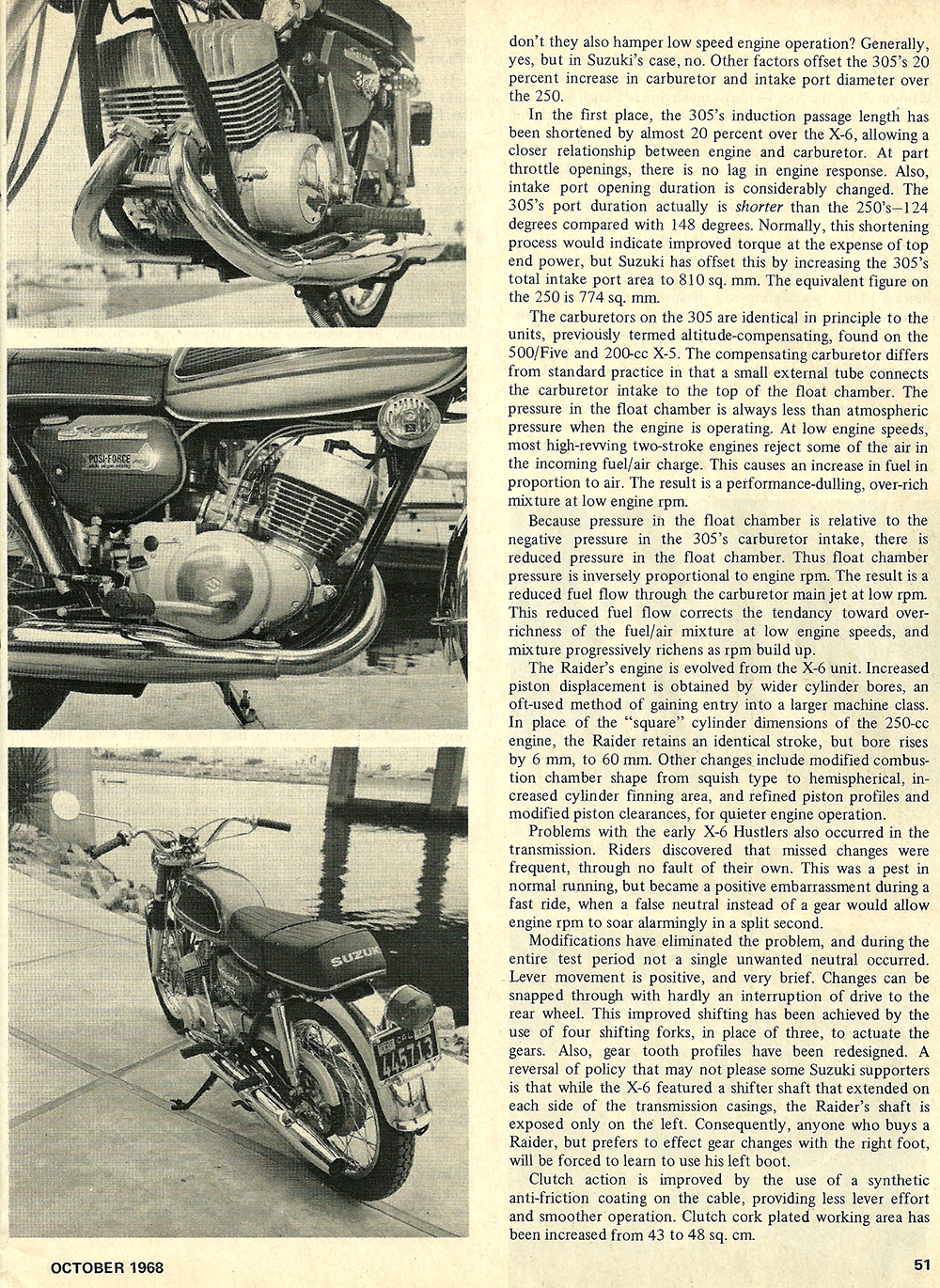 1968 Suzuki 305 Raider road test 02.jpg