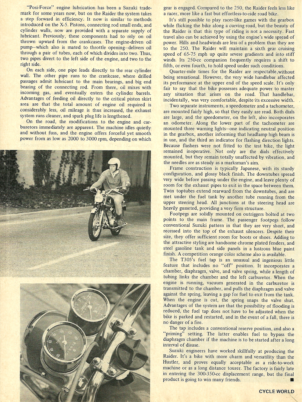 1968 Suzuki 305 Raider road test 03.jpg