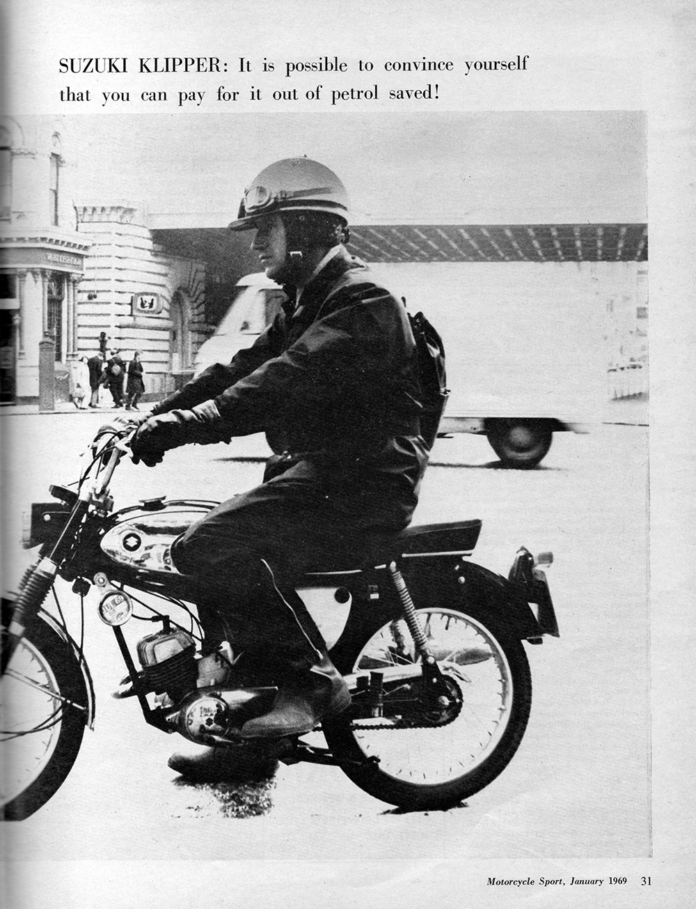 1969 Suzuki Klipper road test 2.jpg