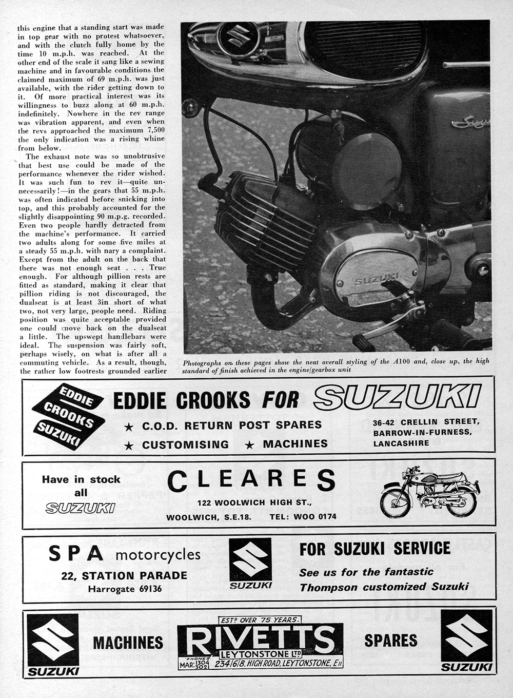 1970 Suzuki A100 road test 3.jpg