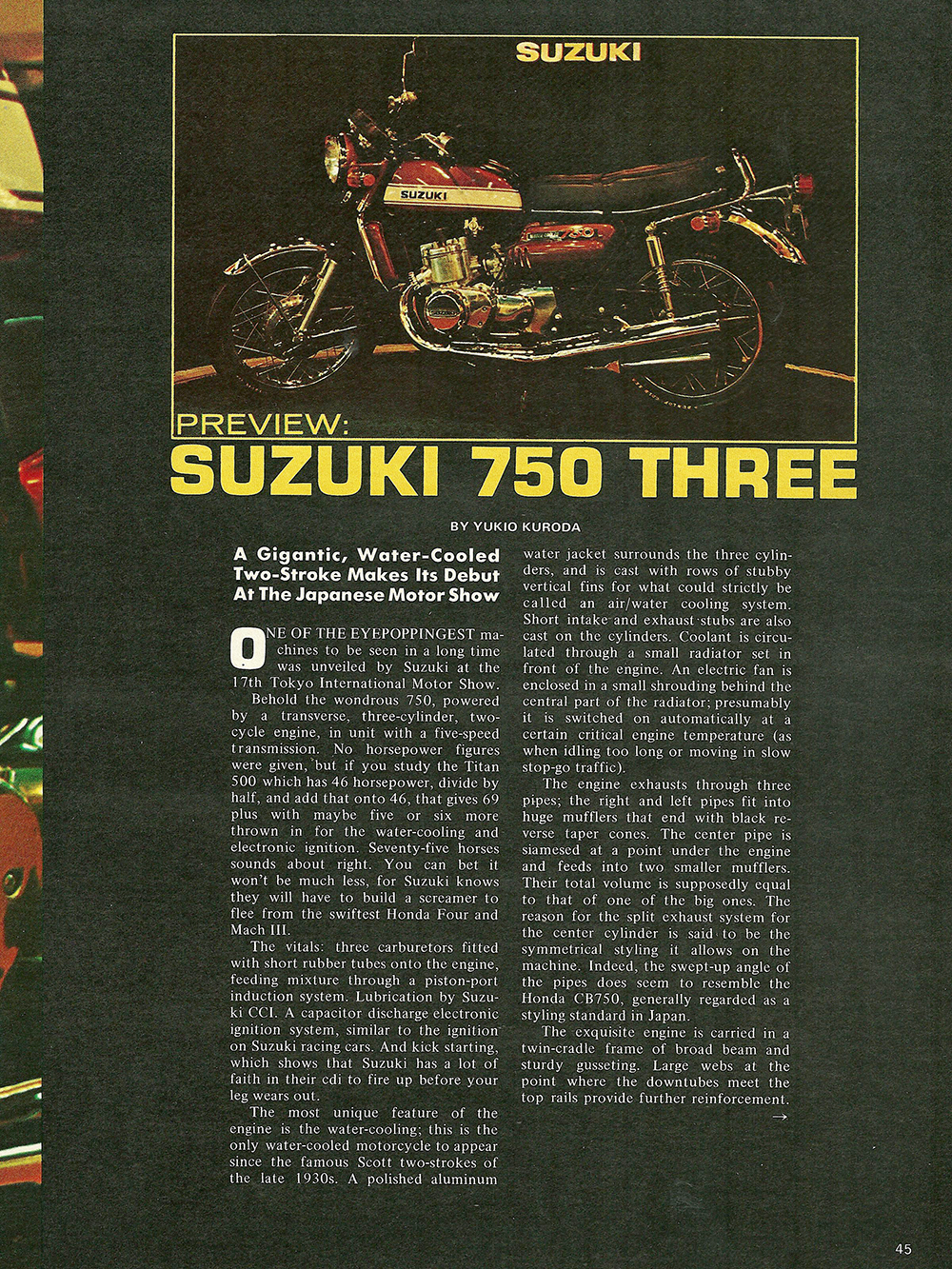 1971 Suzuki GT750 road test 02.jpg