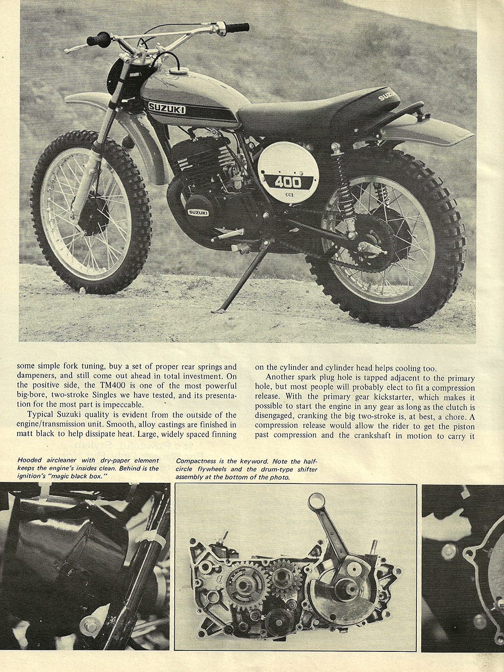 1971 Suzuki TM400R road test 02.jpg