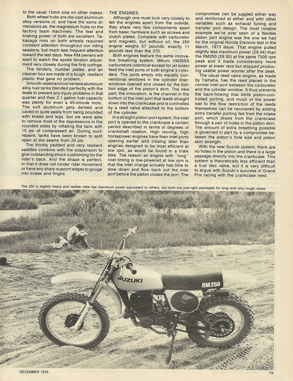 1975 Suzuki RM250 and RM370 off road test 3.JPG
