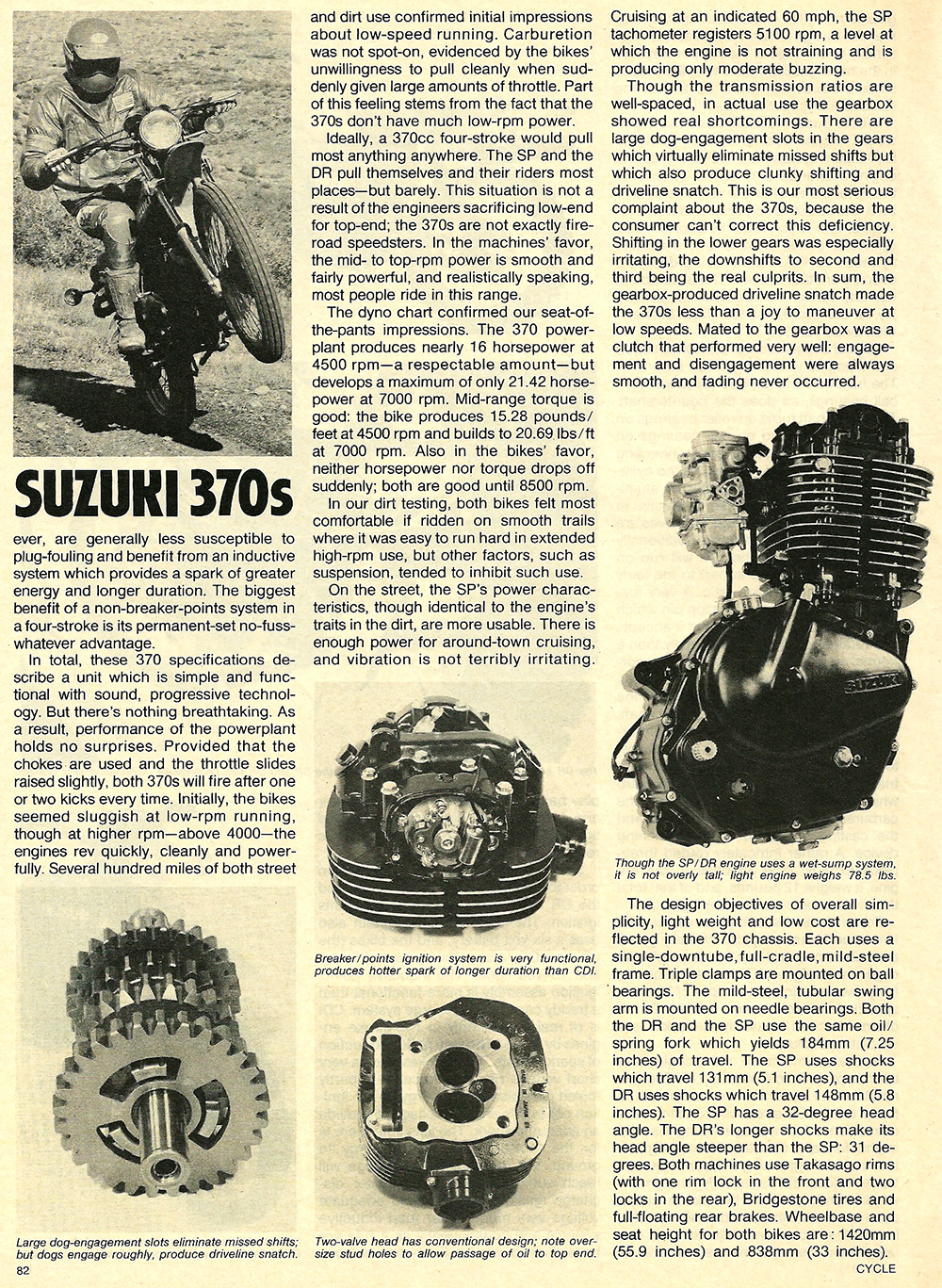 1978 Suzuki DR SP 370 road test 05.jpg