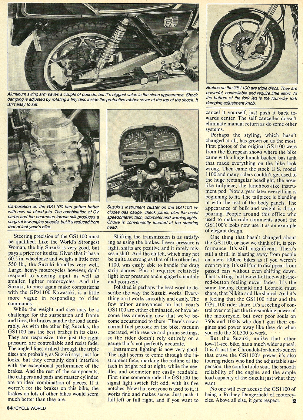 1981 Suzuki GS1100E road test 4.jpg