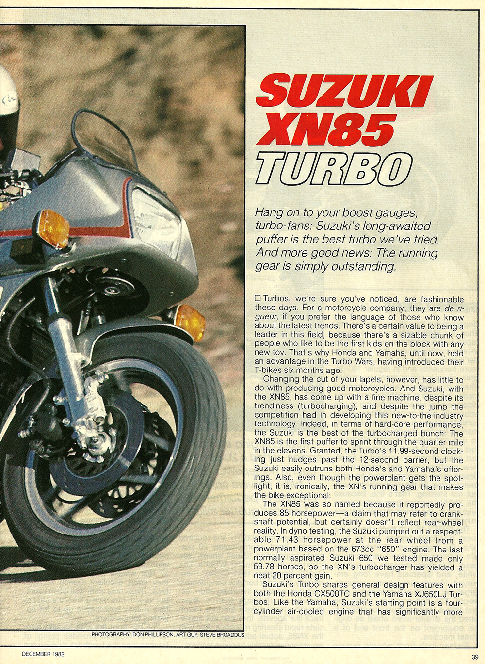 1983 Suzuki XN85 Turbo road test 2.jpg