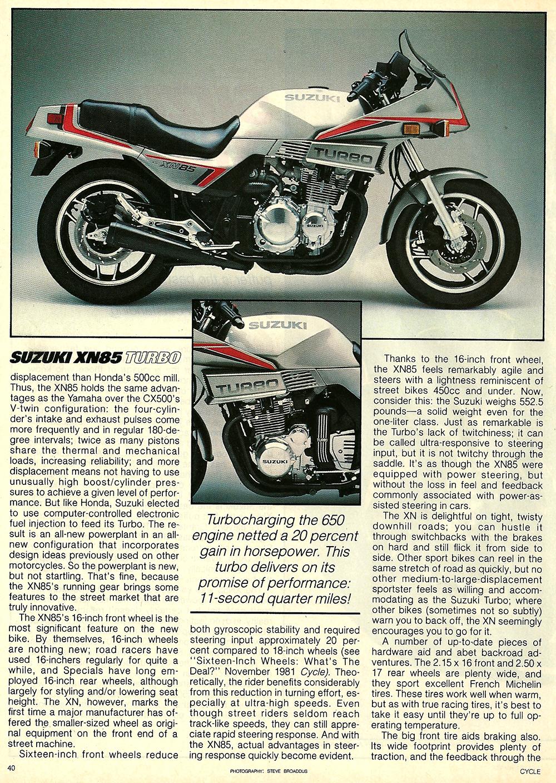 1983 Suzuki XN85 Turbo road test 3.jpg