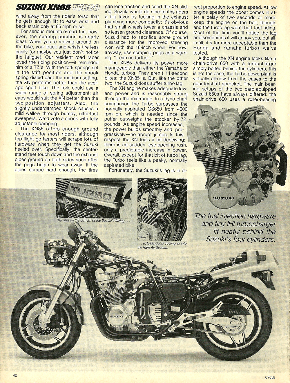 1983 Suzuki XN85 Turbo road test 5.jpg