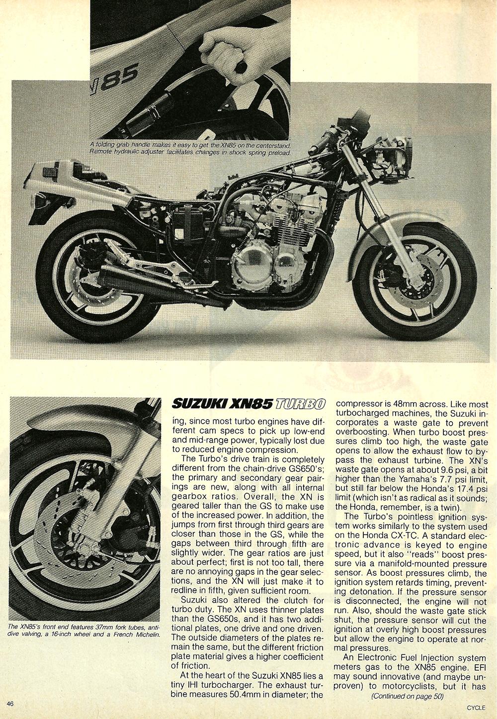 1983 Suzuki XN85 Turbo road test 7.jpg