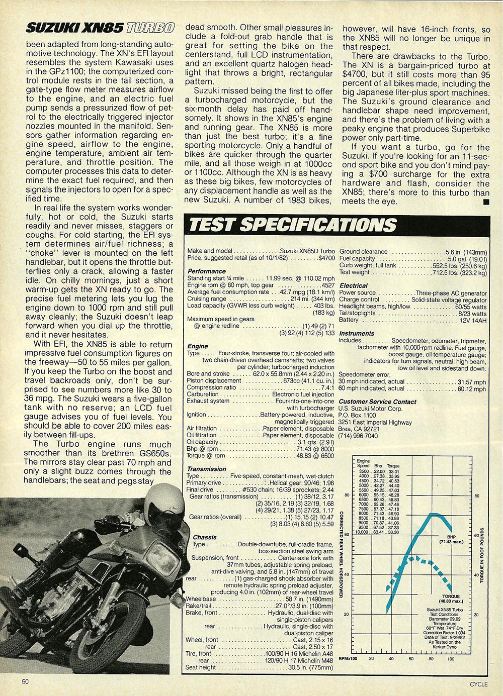 1983 Suzuki XN85 Turbo road test 8.jpg