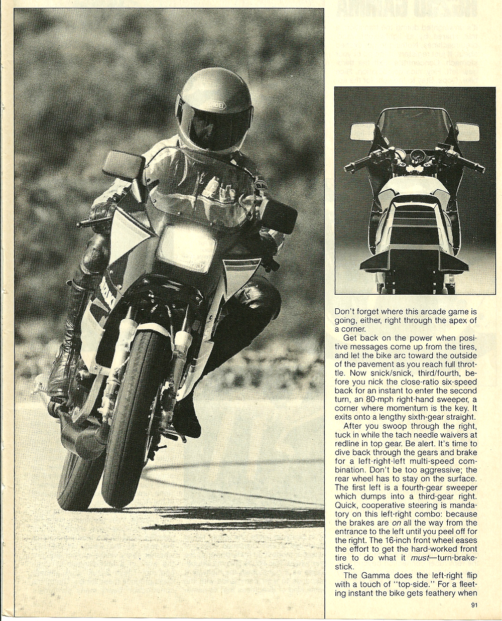 1984 Suzuki RG250 Gamma road test 4.jpg