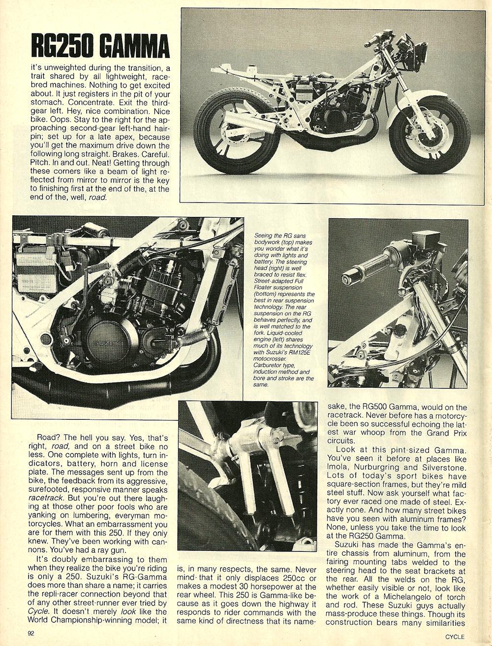 1984 Suzuki RG250 Gamma road test 5.jpg