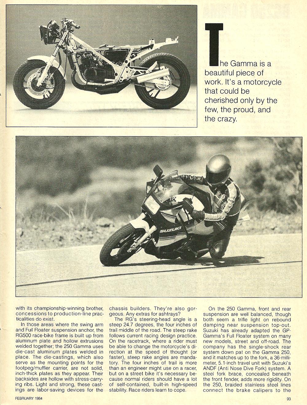 1984 Suzuki RG250 Gamma road test 6.jpg