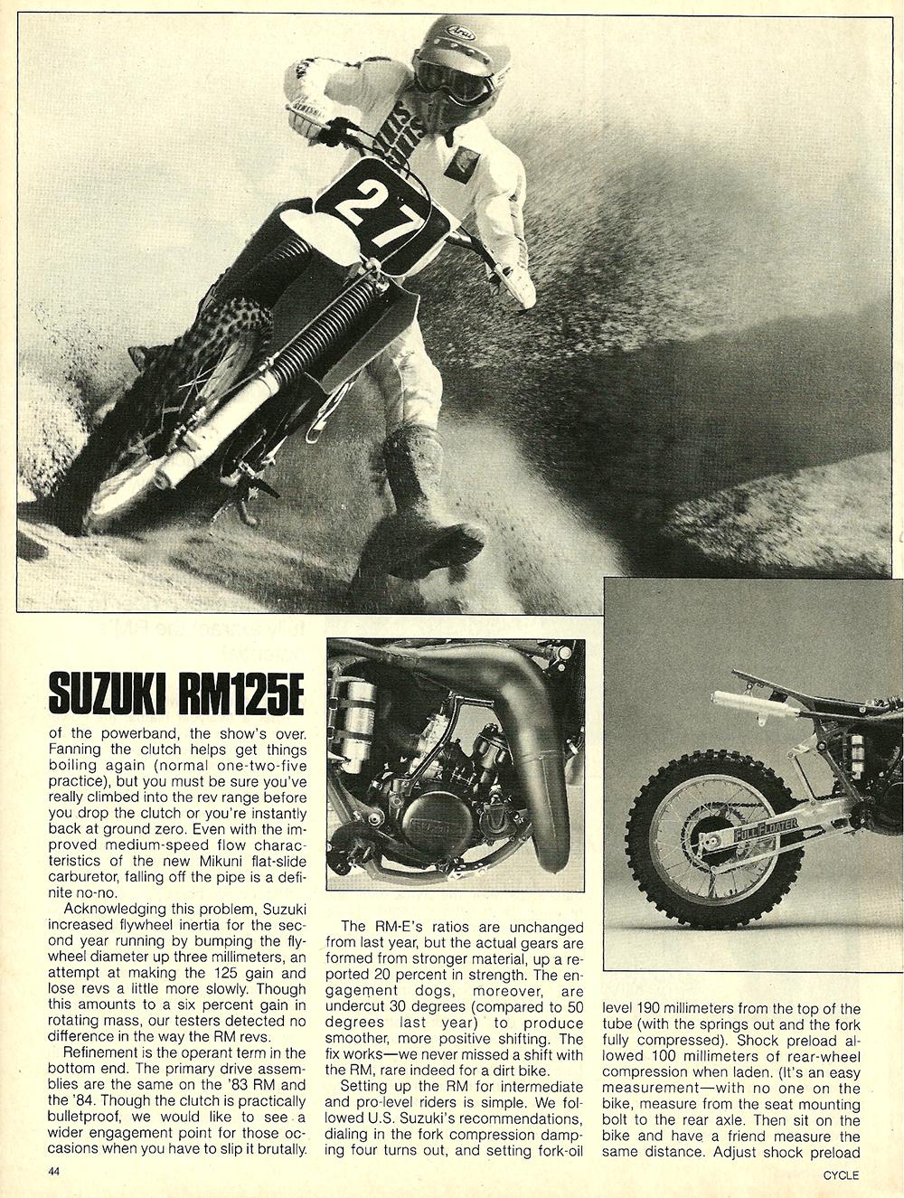 1984 Suzuki RM125E road test 5.jpg