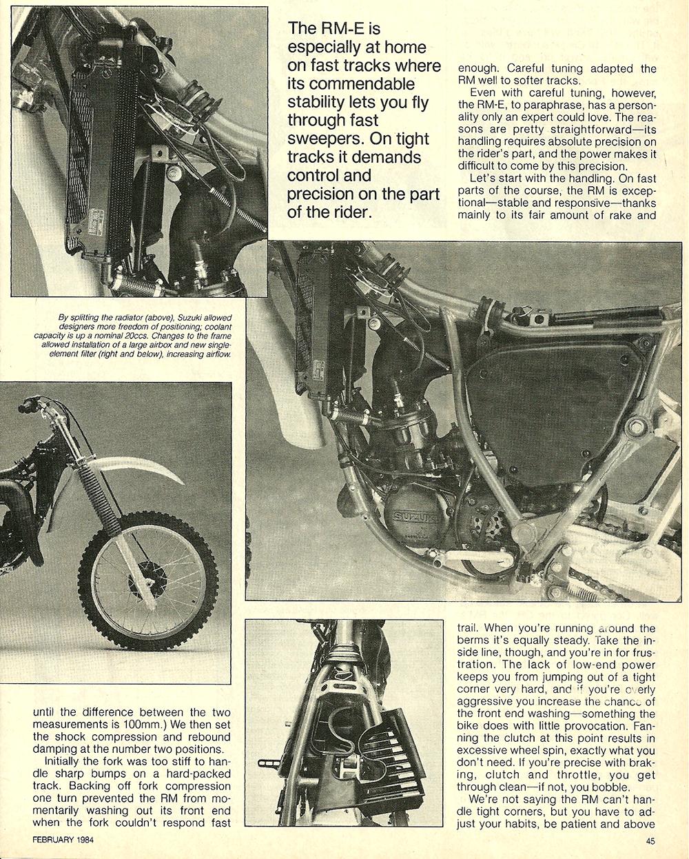 1984 Suzuki RM125E road test 6.jpg