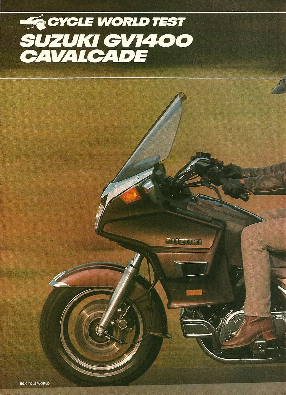 1985 Suzuki GV1400 Cavalcade road test 01.jpg