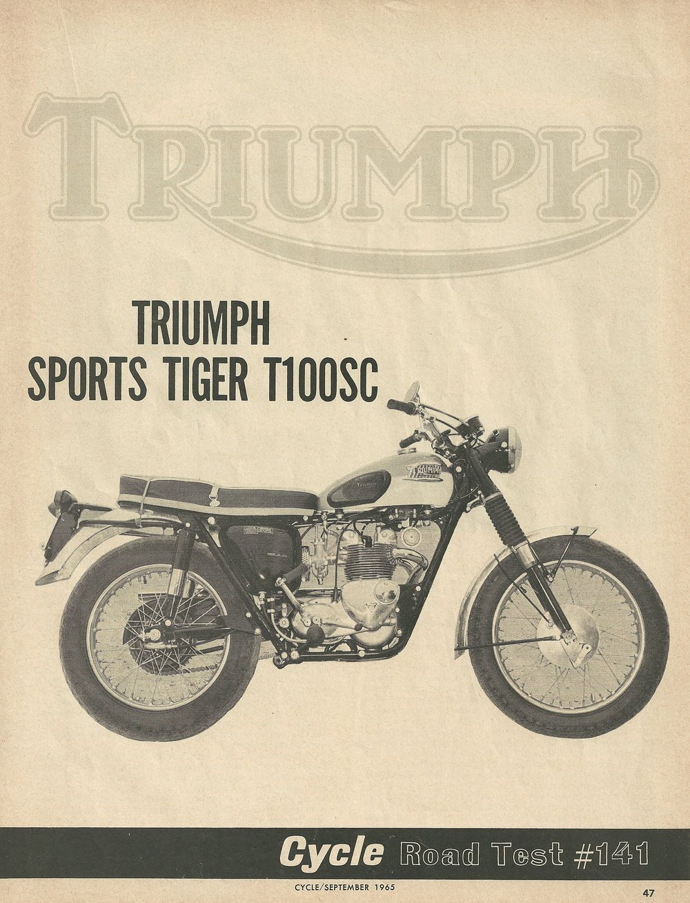 1966 Triumph Sports Tiger T100SC road test 1.JPG